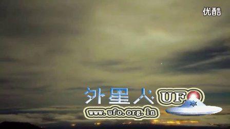 2016年天文学家捕捉到UFO进入地球大气层的镜头震撼的图片