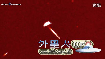 2016年4月13日太阳附近的巨大雪茄型UFO母舰的图片