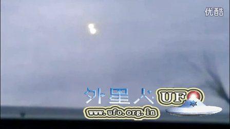 2016年5月1日奥地利上空拍到两个UFO合并成一个后飞走的图片