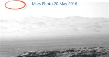 UFO在火星 – 2016年5月20日的图片