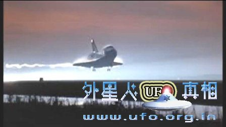 sts-80档案中的UFO在地球未处理画面1996年11月美国NASA的图片