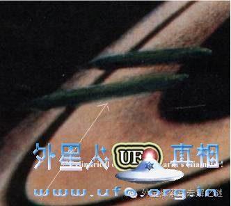 土星出现超巨大雪茄型UFO长达5万公里的图片 第2张