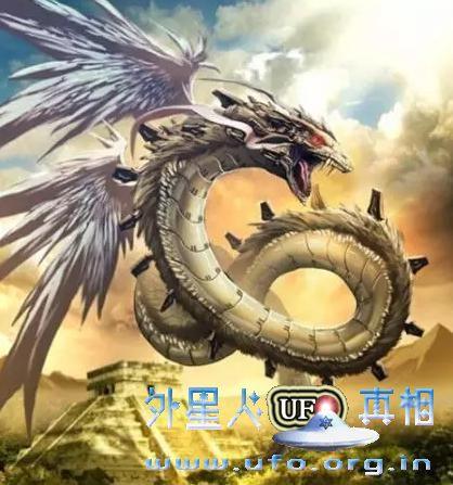 揭开中国龙和玛雅人羽蛇神的未解之谜的图片 第1张