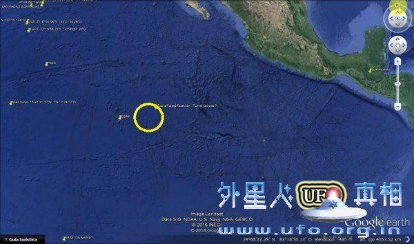 谷歌地球发现海底金字塔形结构 边长达十几公里的图片 第2张