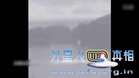 USO从水面飞出来变成UFO了的图片