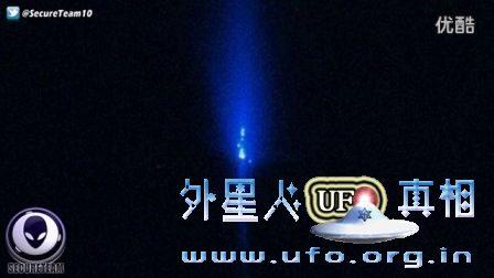 解密:UFO观察宇航员月球行走2016年3月22日的图片