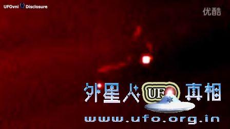 2016年9月7日太阳附近的UFO视频,也许是能量爆发的图片
