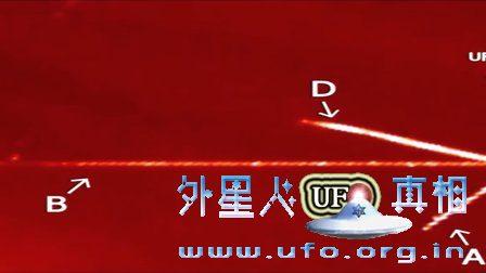 2016年9月12日太阳周围几个放射状发光UFO的图片