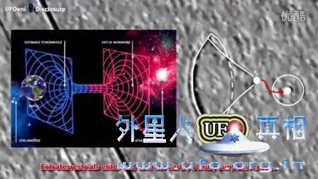 NASA拍摄UFO扩大到进入黑洞?的图片