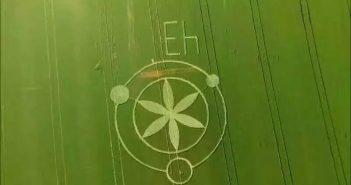 解读巴西巴拉那州Prudentópolis麦田圈之谜2016年9月27日的图片