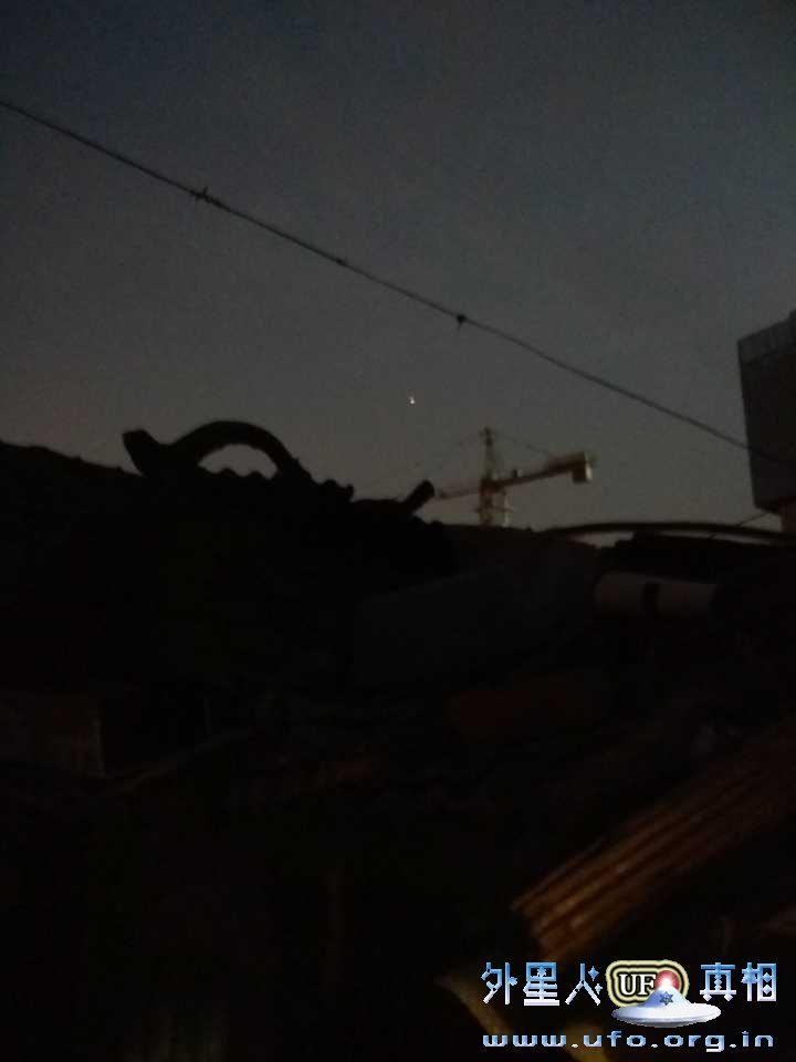 江苏徐州市网友许天恩UFO目击实拍2016年12月11日的图片 第4张