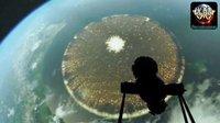 ISS的国际空间站拍摄到的直径3000英里的UFO母船的图片