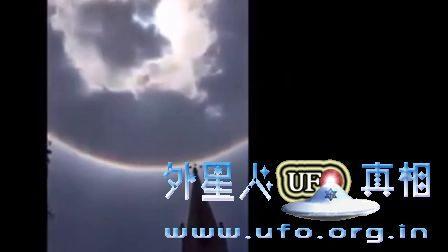 哥伦比亚双重日晕UFO 2017年2月18日的图片