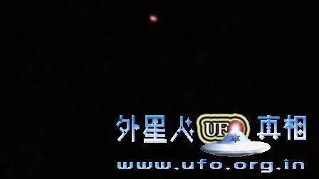 无剪辑,山东泰安拍到的UFO完整版的图片