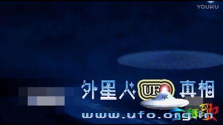 美国加州夜晚目击白色UFO的图片