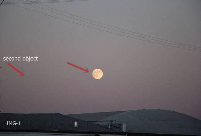 地震前夕月球附近拍到巨型UFO 第5张