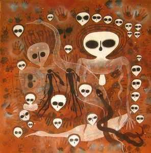 远古外星人壁画5 第5张