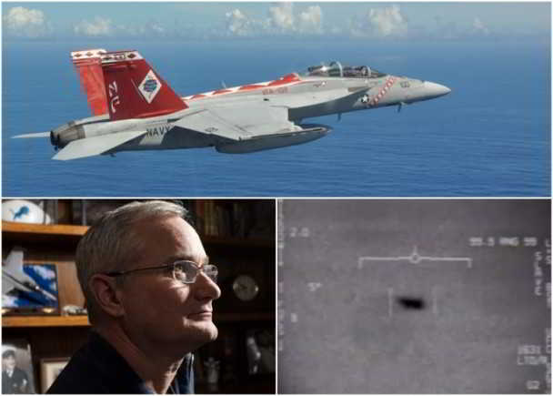 美国海军机师费拉沃(David Fravor)目击UFO