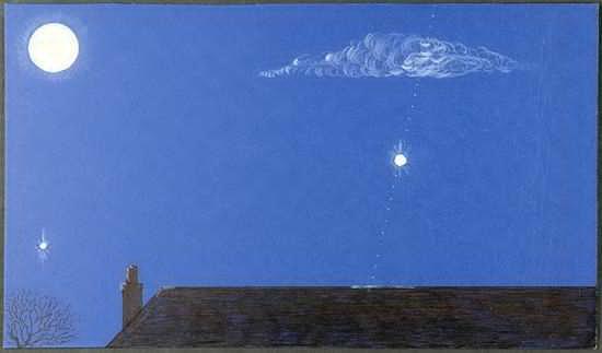 1975年英国UFO素描图(来源:英国国家档案馆) 第1张