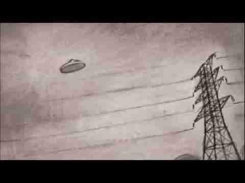 1966年4月6日澳大利亚UFO事件:5架飞机围绕UFO飞行的图片