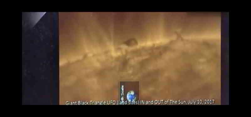一个巨大而奇怪的物体在太阳表面 第2张