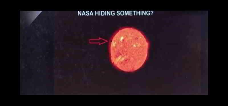 "NASA科学家发太阳有""入口"" UFO可以进出吸收恒星能量的图片 第4张"
