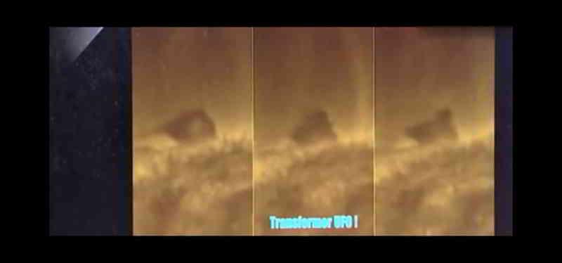 太阳表面3角形黑色巨大UFO,出现3个不同变化 第3张