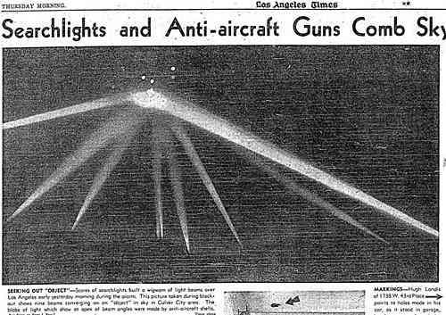 1942年洛杉矶真实空战历史事件:真的击落UFO吗?的图片 第32张
