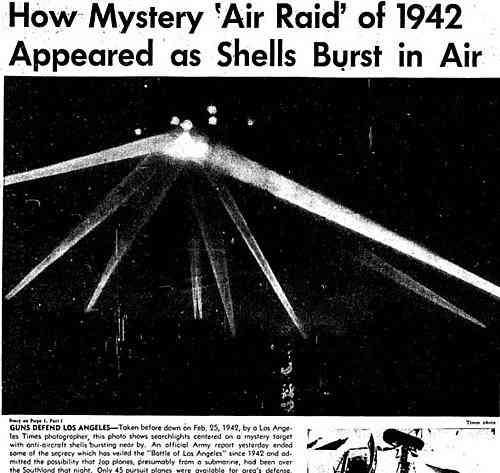 以下洛杉矶UFO图像是不同的修改版本,也在某报纸上发表  第3张