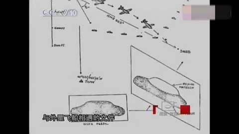 飞机和外星飞碟UFO相遇 第4张