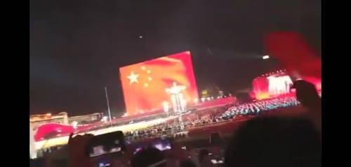 2019年10月1日中国国庆之夜烟花放完 3 秒UFO再现 第3张