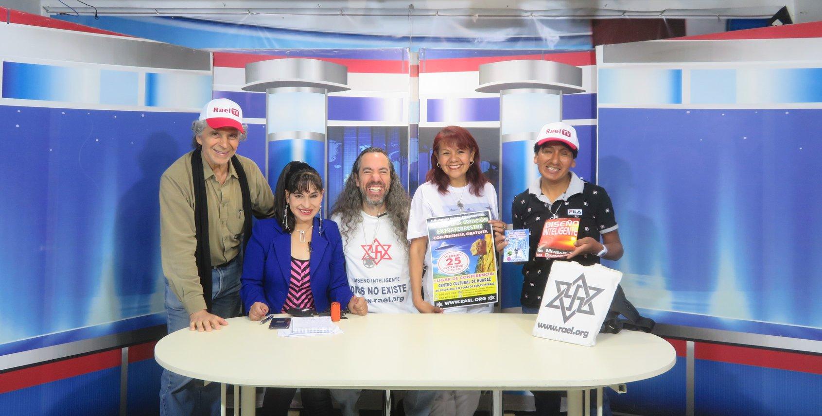 在秘鲁安卡什市瓦拉斯市的Star电视频道的早晨新闻,对秘鲁Raelian Movemnet的非常有趣的采访。 第9张