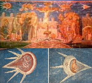 1350年的油画《受难》 第2张