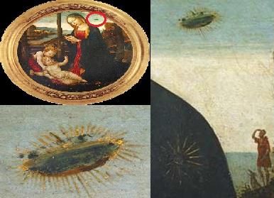 十五世纪的意大利油画《麦当娜与Saint Giovannino》