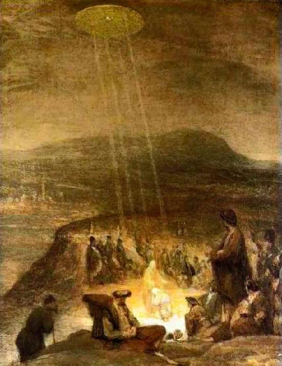 1710年的《基督之洗礼》