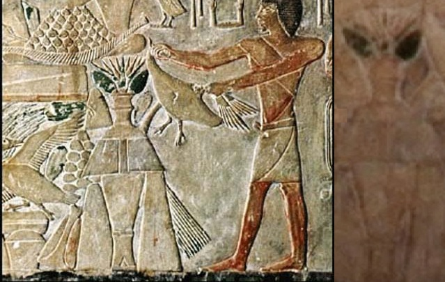 公元前400年的金字塔国壁刻