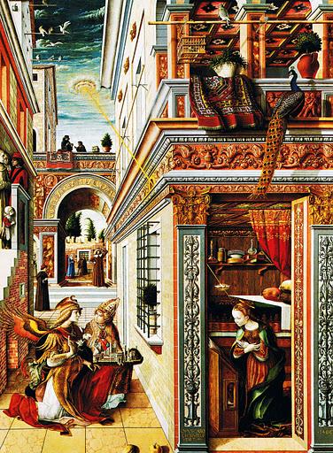 1486年的《给圣·埃米迪乌斯报喜》