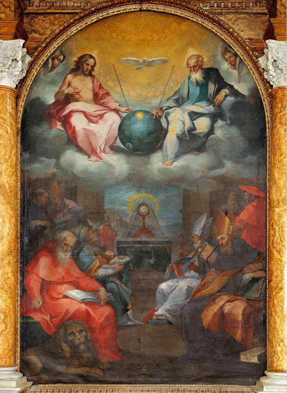 1600年的《歌颂圣体》
